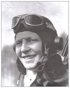 1st Lt. William C. O'Barr - Cockpit - 1943