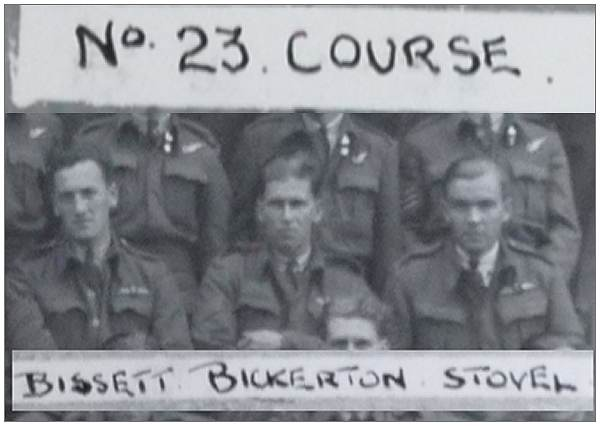 F/Sgt. George S. Bickerton with 22 OTU - 1942 - No. 23 Course