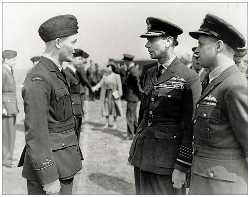 27 May 1943 - Scampton - Les Knight, The King and Guy Gibson