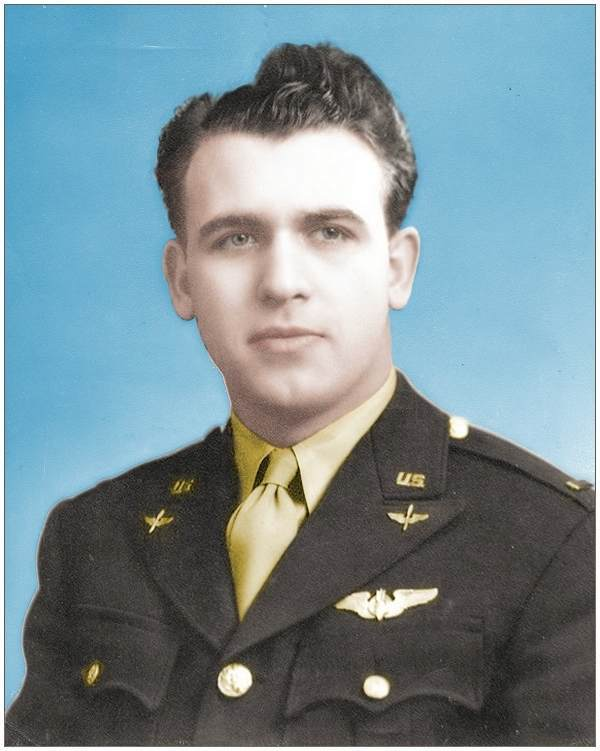 O-732613 - 2nd Lt. - Bombardier - Anthony Louis Destro .... colour retouch by PATS