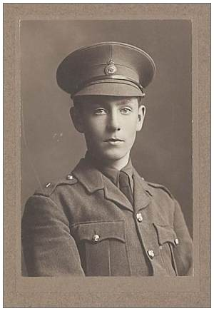 2nd Lieutenant, 189th Brigade. Royal Field Artillery (RFA) - Arthur Worsley Blackden