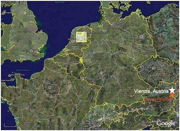 Map - Western Europe