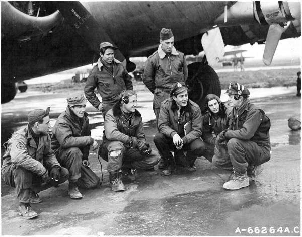 Crew 15- 401st BG - 615th BS - 13 Dec 1944