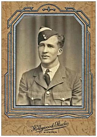 Albert George Makay - RCAF - at start of training