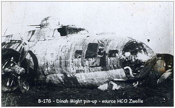 B-17G - 'Dinah Might' - pin-up