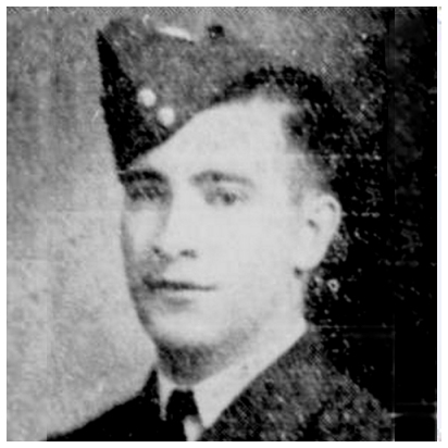 R/105759 - Flight Sergeant - Rear Air Gunner - Beverley William Agar - RCAF - Age 26 - KIA