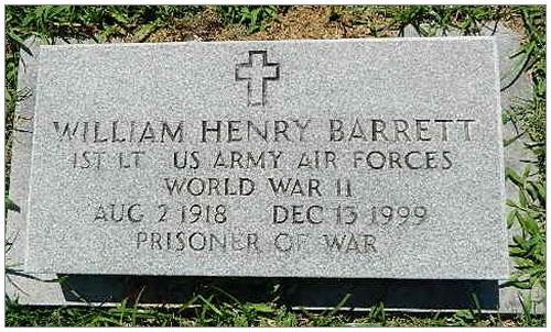 William Henry Barrett - 1918 - 1999
