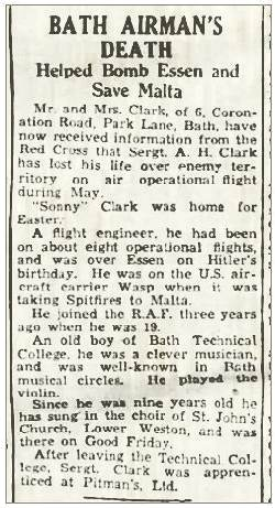 Bath Airman's Death