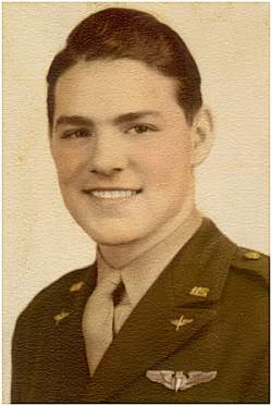 Army Portrait - 2nd Lt. William B. Gatlin - Age 21 - 1943
