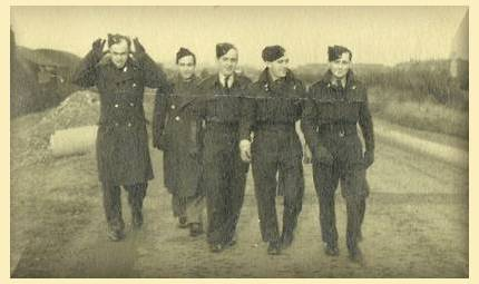 Bill Cottam, Harry Martin and others - 1943