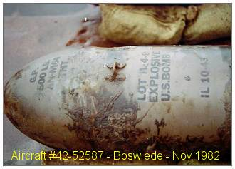 Bomb recovery Nov 1982 - Boswiede