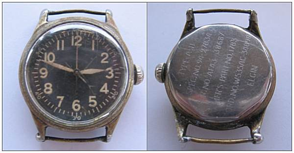 ELGIN watch - from Garrett, Boyer or King - given in 1944 to Wicher Rozeboom