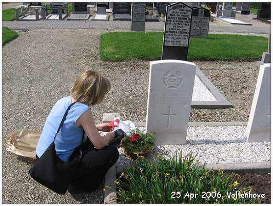 Visit Vollenhove, Netherlands - Brenda Gibbs (niece) - Tuesday 25 April 2006