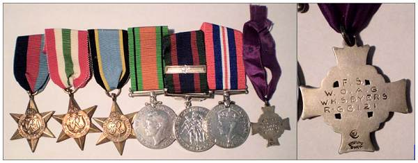 Seven Medals on auction - F/Sgt. William Harold Stanley Byers - R.68121