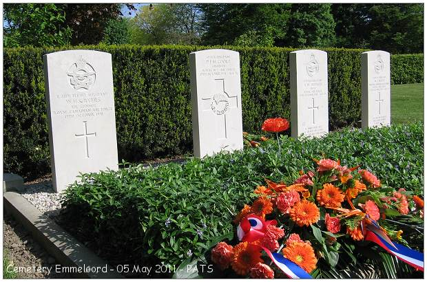 General Cemetery Emmeloord - 05 May 2011 by PATS
