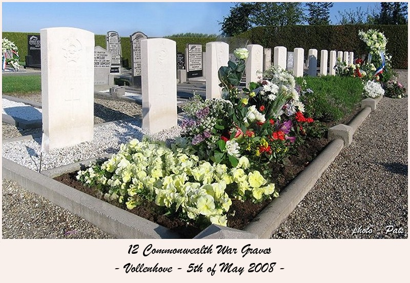 Commonwealth War Graves - Vollenhove - 5 May 2008