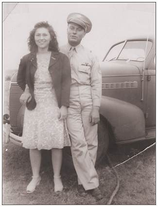 Mary and Charlie - Summer 1945</b>