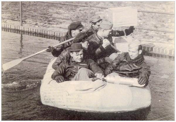 Crew 'Sara Jane' - at training