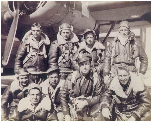 Crew Lansill - 1943 - with Huemoeller