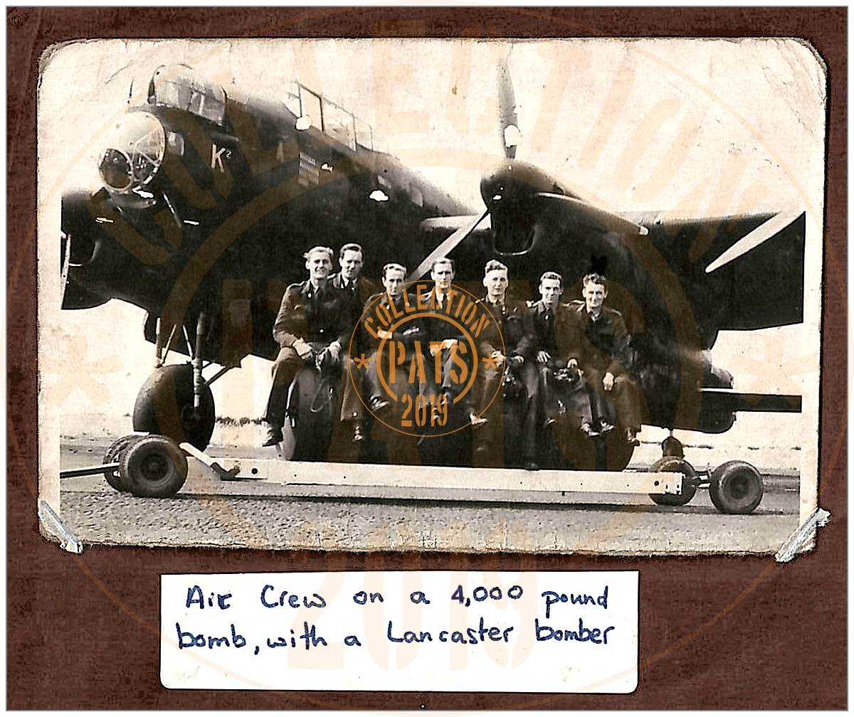 Coyne's original crew photo - donated and forwarded to his daughter Pat - 03 Mar 2019
