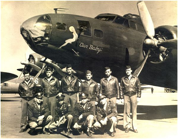 Crew Smith - 'Our Baby' - March 1944, Dalhart, TX
