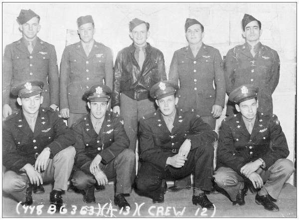 Crew 12 - 448th BG - Schumann