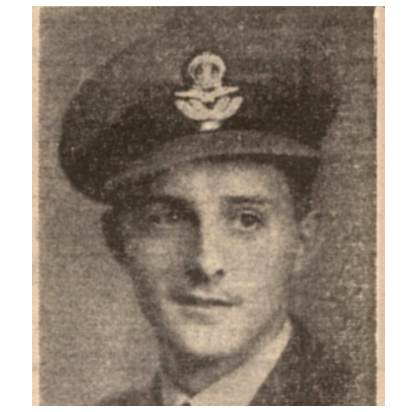 126517 - Flying Officer - Air Bomber - Eric Richard Victor Ashcroft - RAFVR - Age 20 - KIA