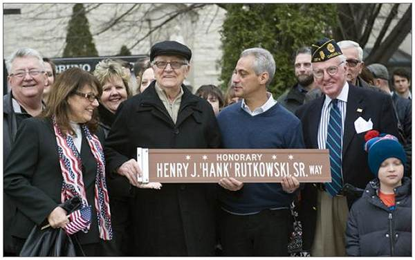 * * Honorary * * Henry J. 'Hank' Rutkowski, Sr. Way - 06 Dec 2014