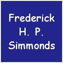 1378201 - Flight Sergeant - Rear Air Gunner - Frederick Henry 'Pete' Simmonds - RAFVR - Age 29 - KIA