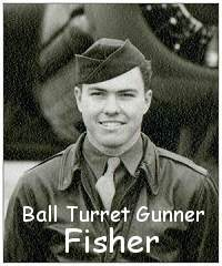 Fisher as on crew photo - Dec 1943