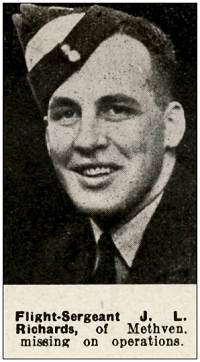 F/Sgt. - James Leonard Richards - RNZAF