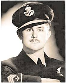 FO Charles (Chas) Roland Lark in uniform before July 1942