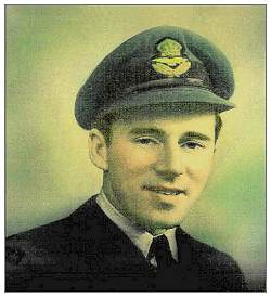 Flying Officer - Pilot - Ivan James Vincent Wallace - RCAF