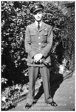 Flying Officer - Maurice Arnold Monks - RAFVR