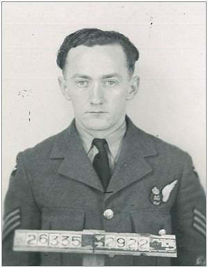 R/263352 - Flight Sergeant - Air Gunner - Michael Arthur Cook - RCAF