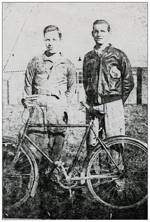 T/Sgt. Norman E. Fuller and S/Sgt. Paul J. Suchcicki