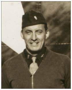 2nd Lt. George Joseph Clark on crew photo