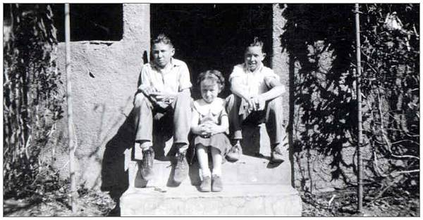 George, Elizabeth and John Wylie - mid 30's
