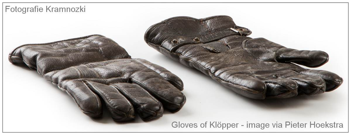 Gloves of Oberleutnant Heinz Kurt Albert Klöpper