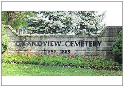 Grandview Cemetery - entrance - Johnstown, PA