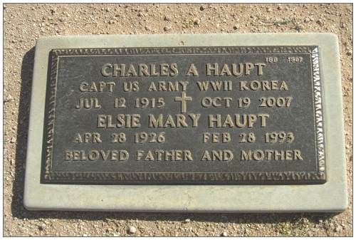 Charles A. Haupt and Elsie Mary Haupt