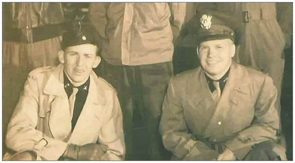 Pilot Ralph Holcombe and Co-pilot John Baber