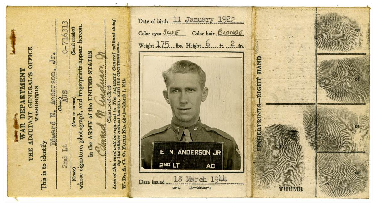 Anderson Jr. - 'ID card' - via KU 3756