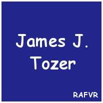Pilot Officer - Observer - James Johnstone Tozer - RAFVR - KIA - Cemetery Willemsoord
