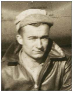 S/Sgt. James V. King on crew photo
