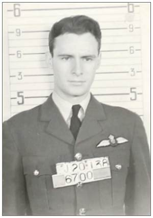 J/20138 - Flight Lieutenant - Pilot - Norman Paulle Courtney Woodward - RCAF