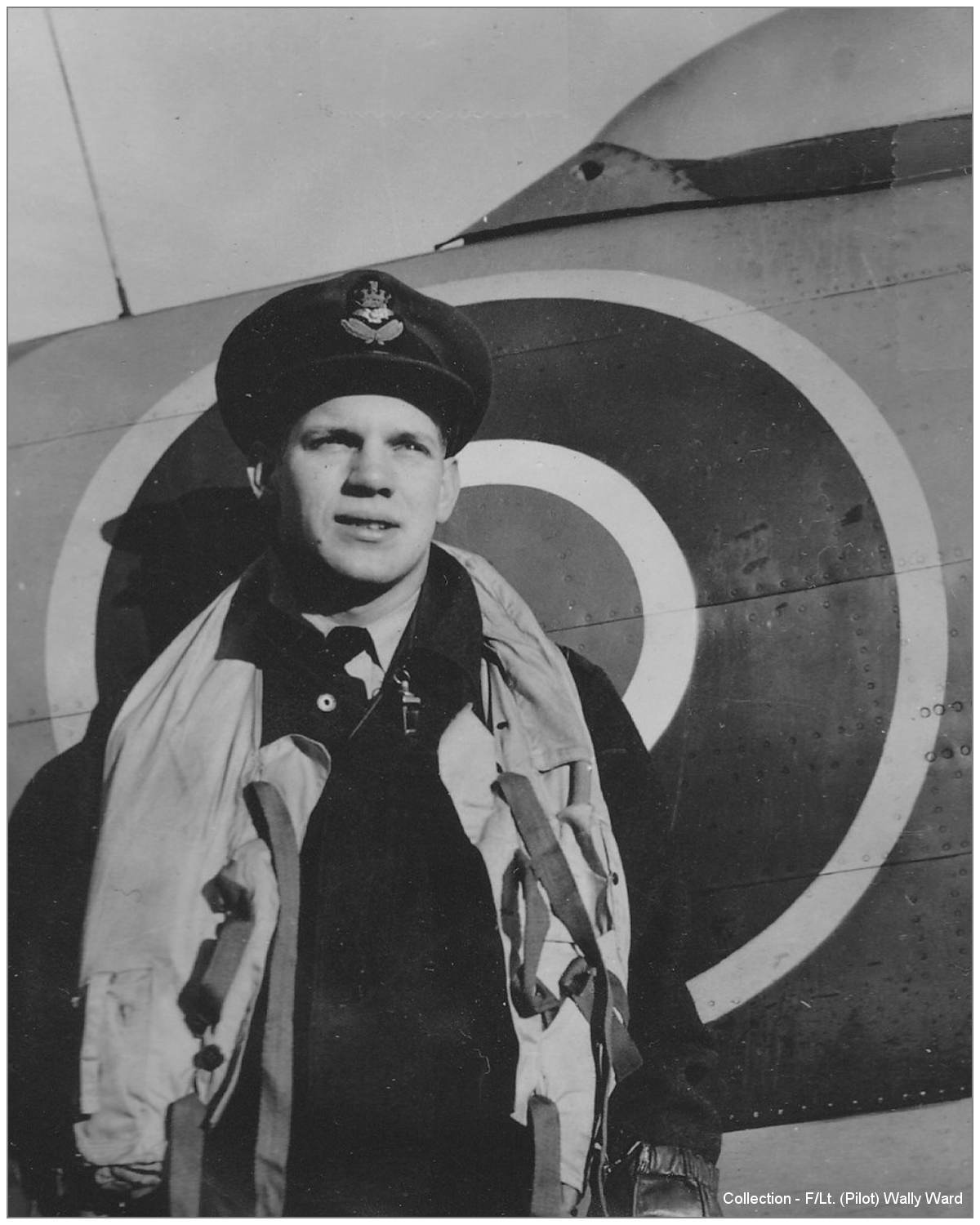 J/26406 - F/O. Ronald 'Ron' William Doidge - RCAF - Collection - F/Lt. (Pilot) Wally Ward - via Bill Eull