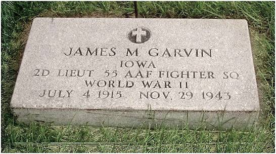 Headstone - James Michael Garvin - Cemetery Marcus, IA