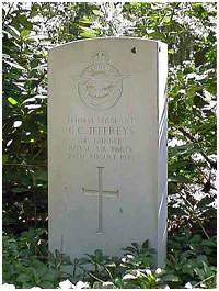 Headstone - Sgt. Gordon Clarence Jeffreys