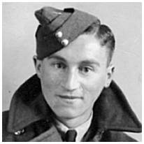 1187129 - F/Sgt. - W.Operator - Kenneth Eric Godfrey - RAFVR - POW - in Camps 9C/L6/357, POW No. 42756